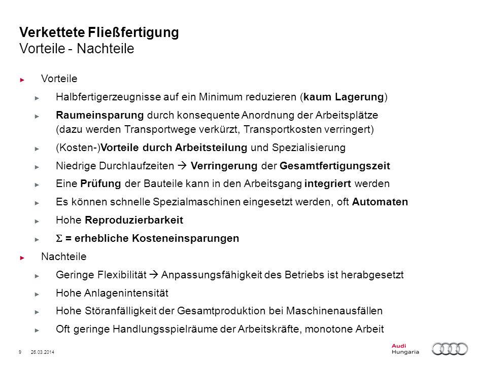 20 26.03.2014 Audi Hungaria Motor Kft.