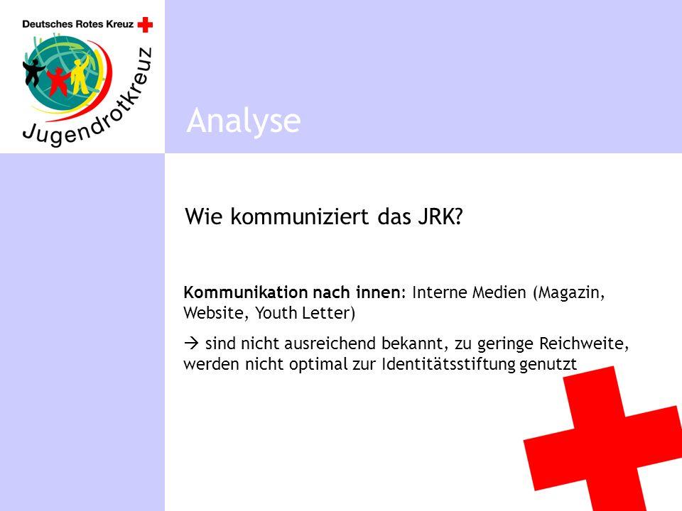 Wie kommuniziert das JRK.