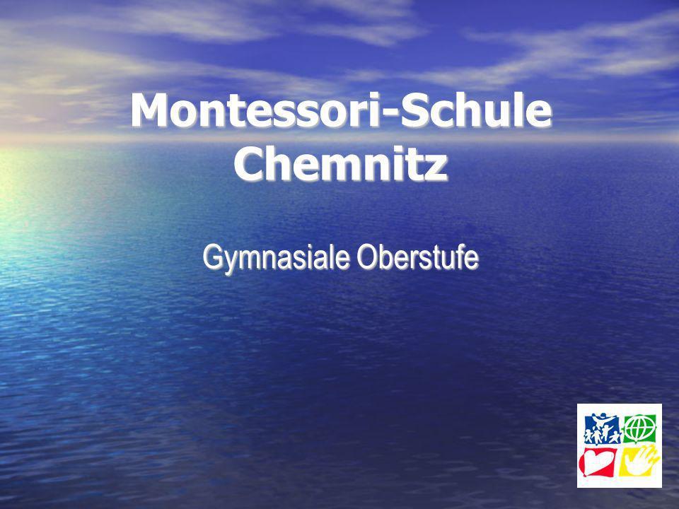 Montessori-Schule Chemnitz Gymnasiale Oberstufe