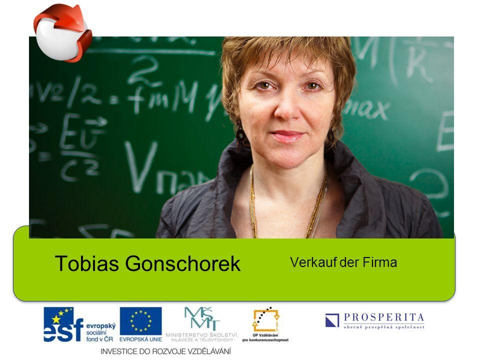 Tobias Gonschorek Verkauf der Firma
