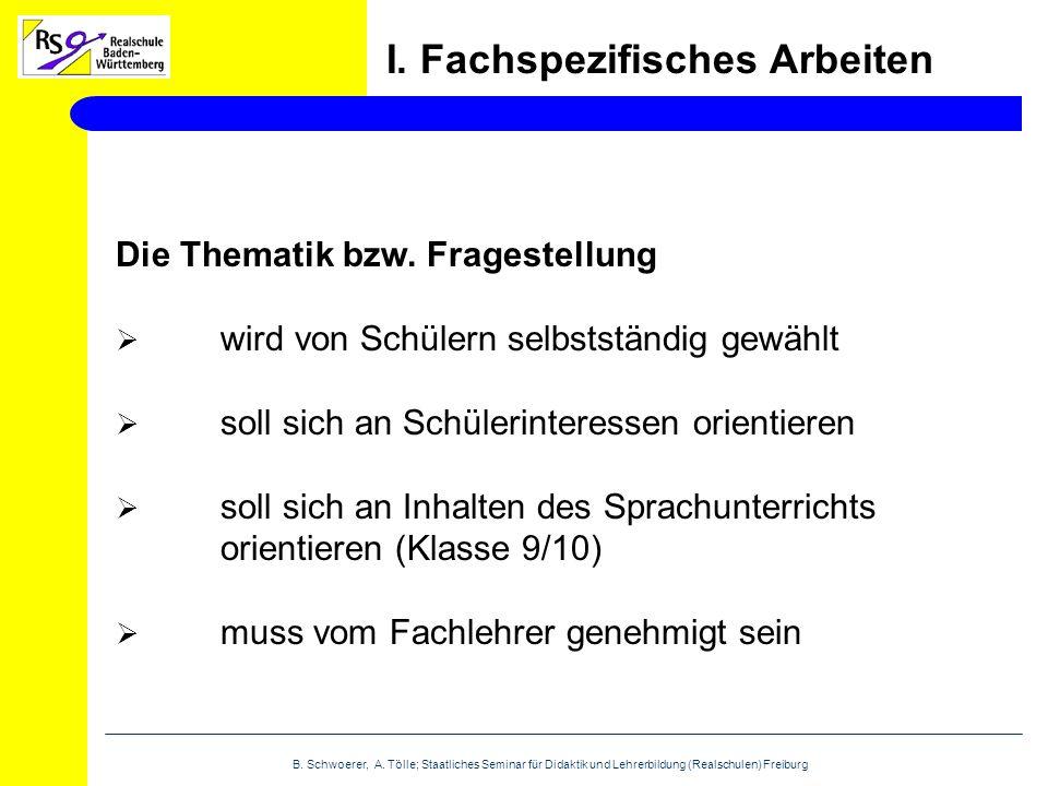 B. Schwoerer, A.