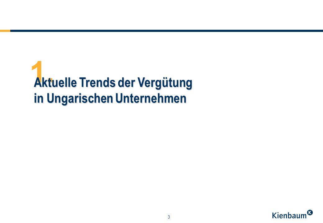 3 1. Aktuelle Trends der Vergütung in Ungarischen Unternehmen