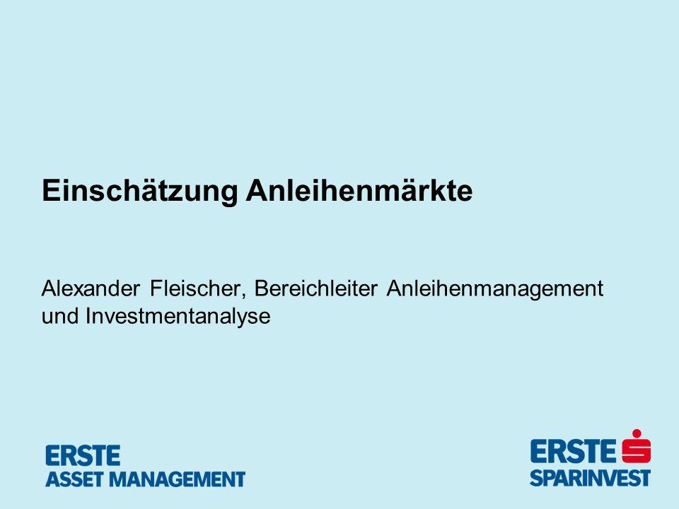 Pressegespräch Juli 2010 23.04.2010 - Seite 14 BRIK Unternehmensanleihen -Kräftiges BIP-Wachstum in EM ex.