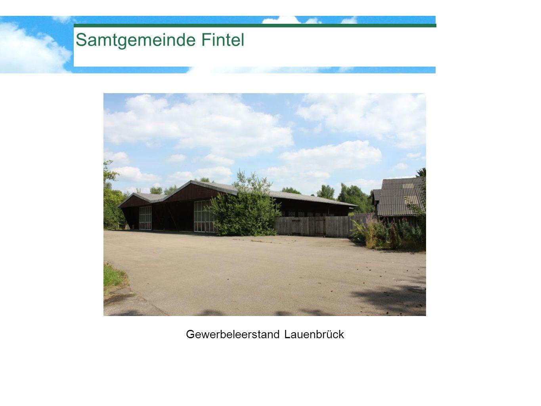Samtgemeinde Fintel Gewerbeleerstand Lauenbrück