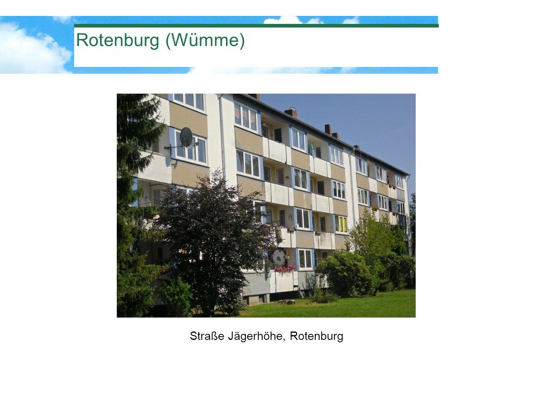 Rotenburg (Wümme) Straße Jägerhöhe, Rotenburg