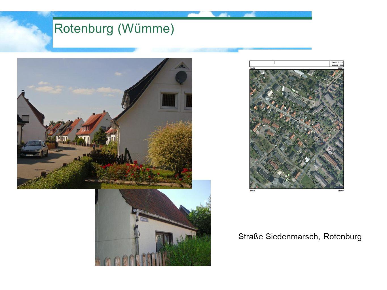 Rotenburg (Wümme) Straße Siedenmarsch, Rotenburg
