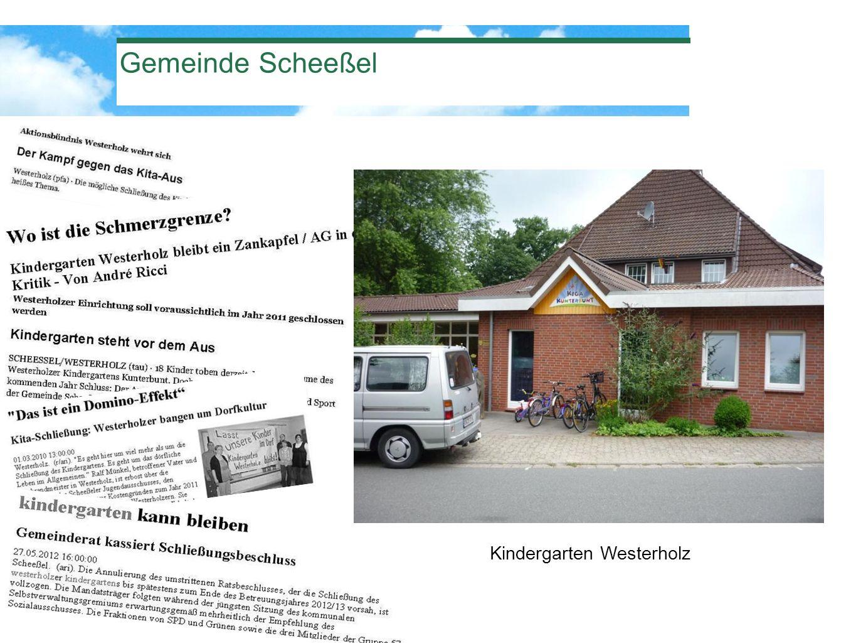 Gemeinde Scheeßel Kindergarten Westerholz