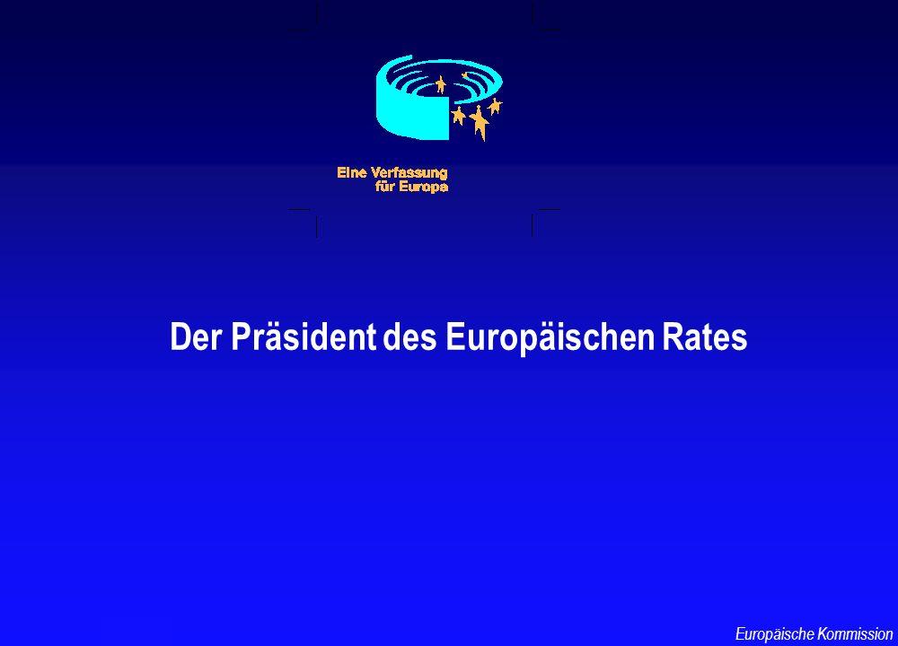 Der Präsident des Europäischen Rates TF-AU/3 Europäische Kommission