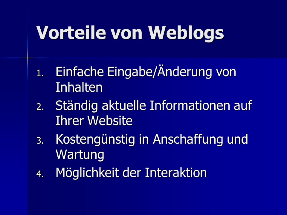 Beispiele für Warblogs www.dear_raed.blogspot.com www.dear_raed.blogspot.com www.dear_raed.blogspot.com www.warblogs.cc www.warblogs.cc www.warblogs.cc www.rollberg.de www.rollberg.de www.rollberg.de www.back-to- iraq.com/archives/000232.php www.back-to- iraq.com/archives/000232.php www.back-to- iraq.com/archives/000232.php www.back-to- iraq.com/archives/000232.php