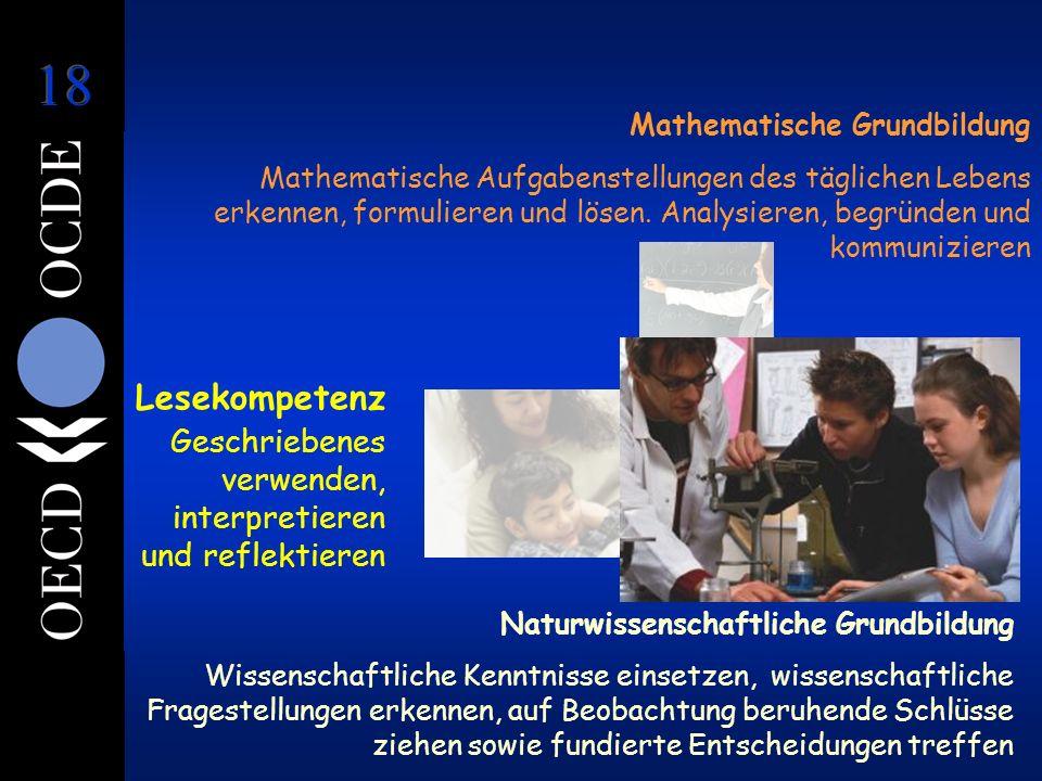 Naturwissenschaftliche Grundbildung Wissenschaftliche Kenntnisse einsetzen, wissenschaftliche Fragestellungen erkennen, auf Beobachtung beruhende Schl