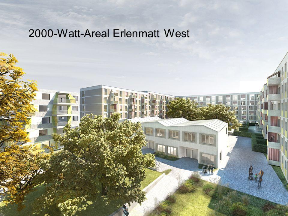 Intep – Integrale Planung GmbH Folie 7   Bern, 06.09.2013   EnergieSchweiz   Energietag 2000-Watt-Areal Erlenmatt West