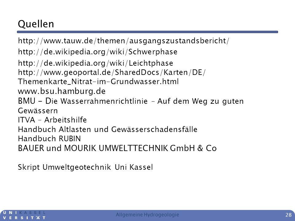 Quellen http://www.tauw.de/themen/ausgangszustandsbericht/ http://de.wikipedia.org/wiki/Schwerphase http://de.wikipedia.org/wiki/Leichtphase http://ww