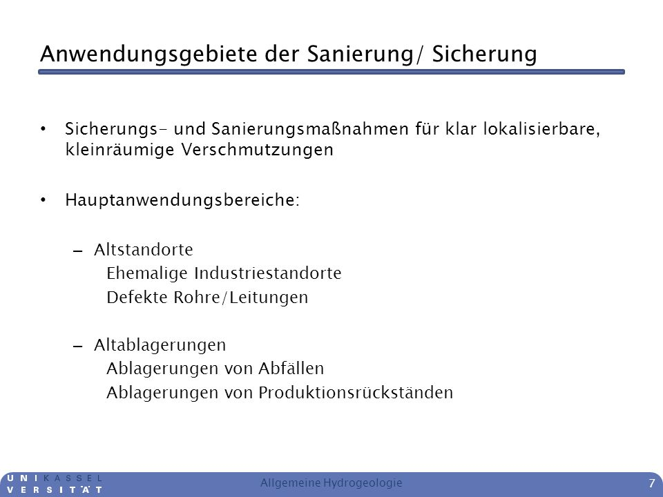 Quellen http://www.tauw.de/themen/ausgangszustandsbericht/ http://de.wikipedia.org/wiki/Schwerphase http://de.wikipedia.org/wiki/Leichtphase http://www.geoportal.de/SharedDocs/Karten/DE/ Themenkarte_Nitrat-im-Grundwasser.html www.bsu.hamburg.de BMU - D ie Wasserrahmenrichtlinie – Auf dem Weg zu guten Gewässern ITVA – Arbeitshilfe Handbuch Altlasten und Gewässerschadensfälle Handbuch RUBIN BAUER und MOURIK UMWELTTECHNIK GmbH & Co Skript Umweltgeotechnik Uni Kassel Allgemeine Hydrogeologie 28