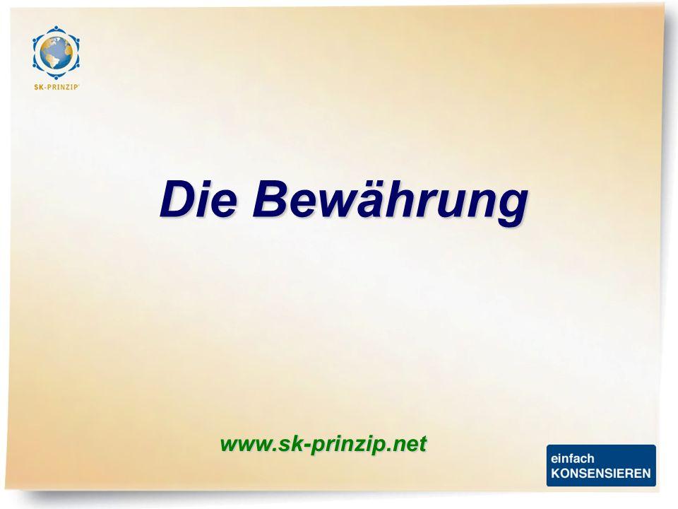 www.sk-prinzip.net Die Bewährung