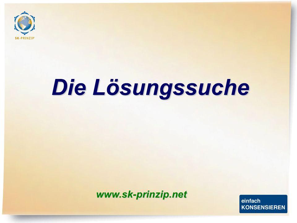 www.sk-prinzip.net Die Lösungssuche