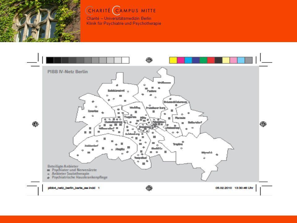 Charité – Universitätsmedizin Berlin Klinik für Psychiatrie und Psychotherapie
