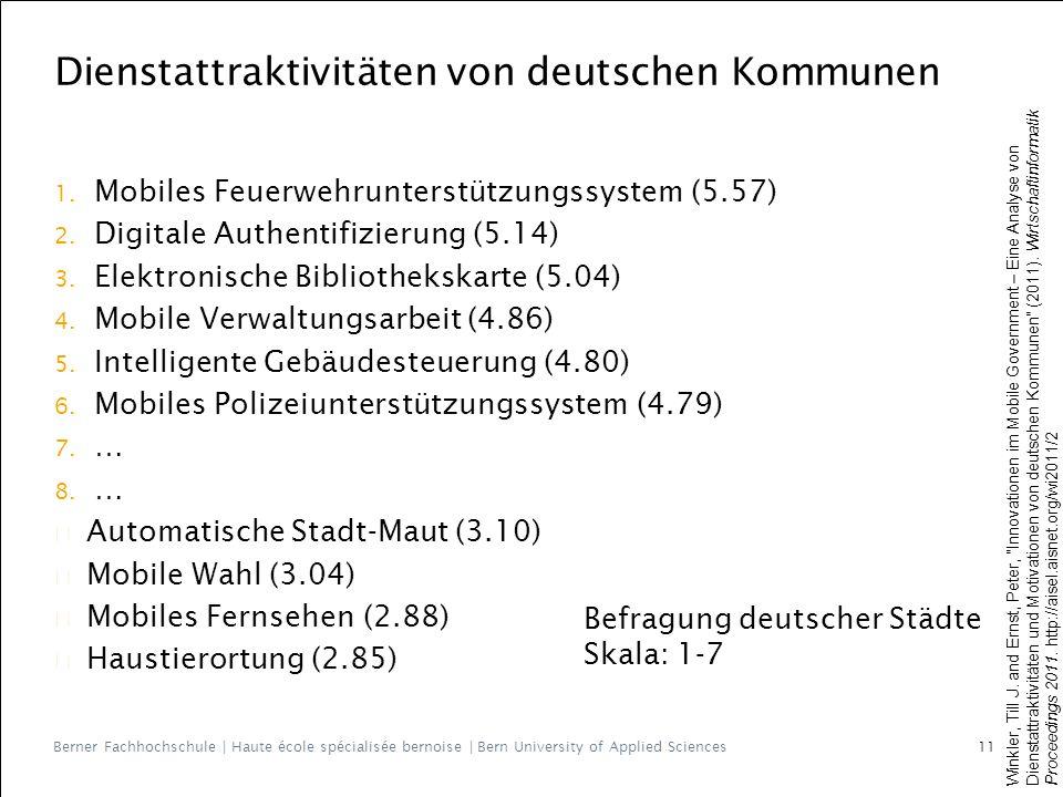 Berner Fachhochschule | Haute école spécialisée bernoise | Bern University of Applied Sciences 1.