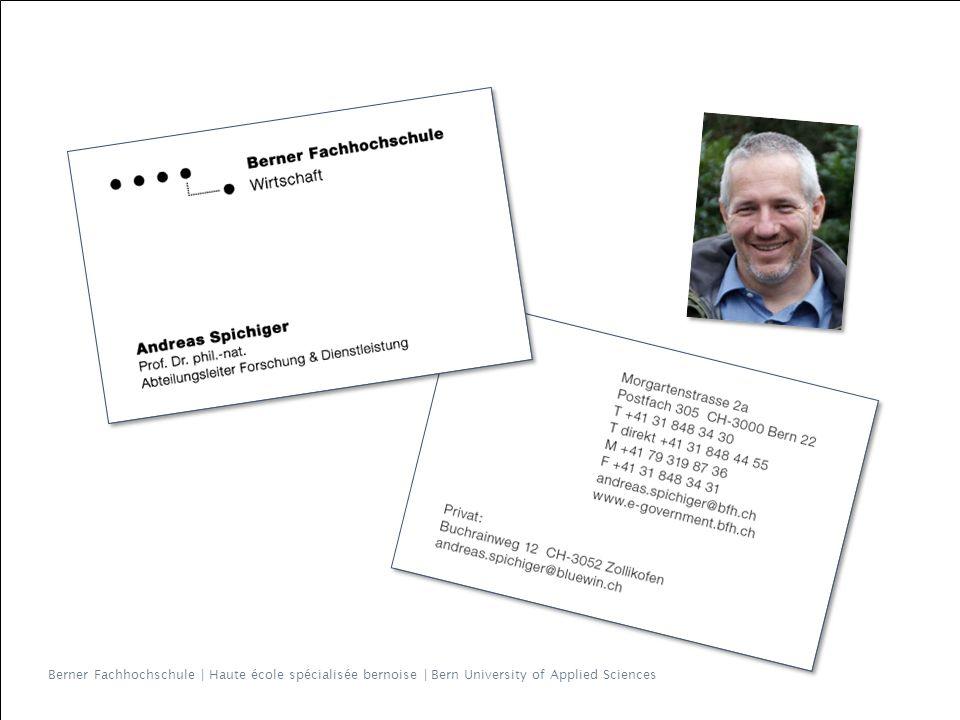 Berner Fachhochschule | Haute école spécialisée bernoise | Bern University of Applied Sciences