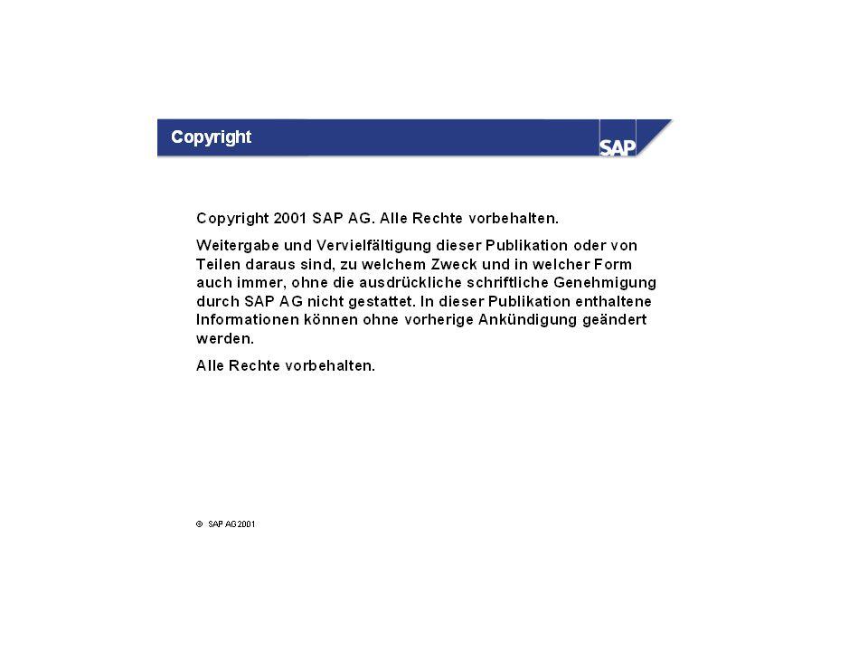 SAP Systeme sind Mandantensysteme.