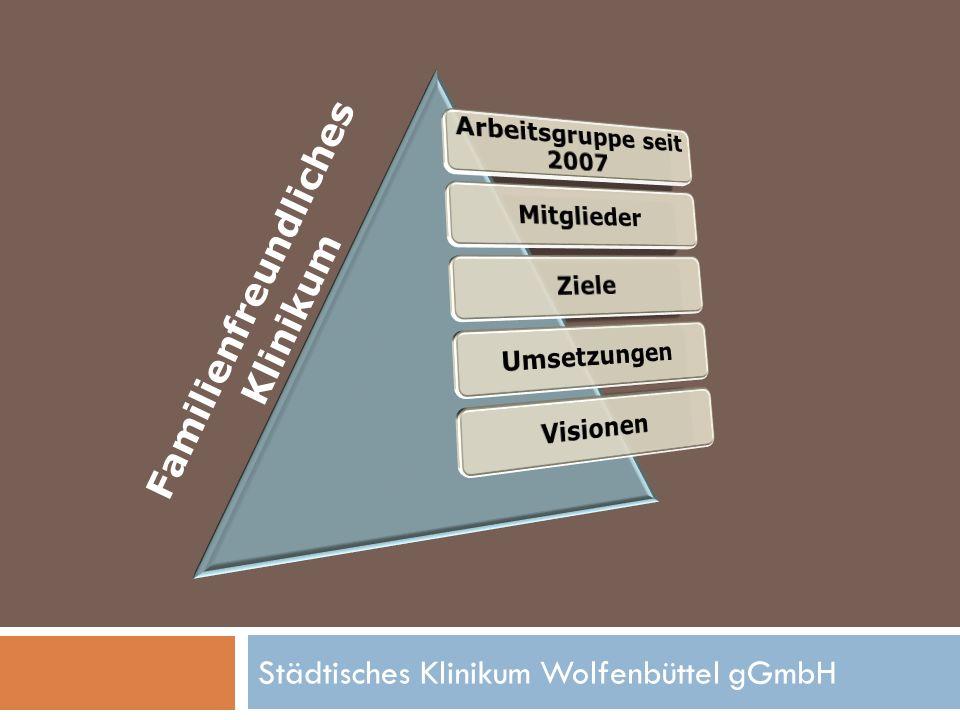 Städtisches Klinikum Wolfenbüttel gGmbH Familienfreundlichkeits- Check 2011