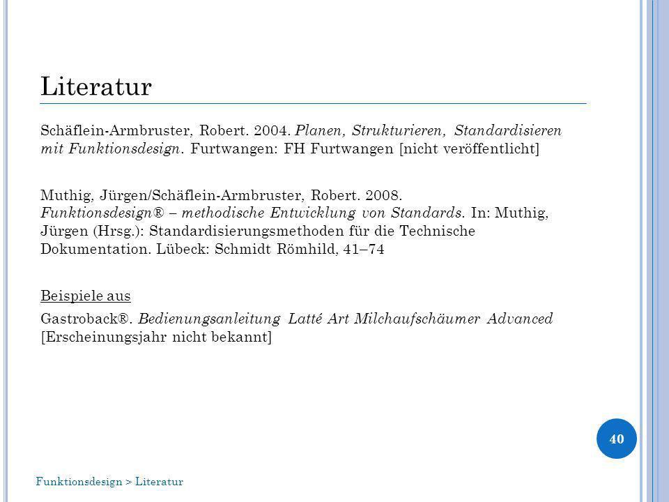 Literatur Schäflein-Armbruster, Robert.2004.