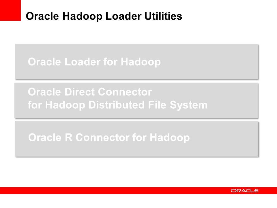 Oracle Loader for Hadoop Map Reduce – Programm Native – Aufruf Lesen aus HDFS Formate Hive table Delimited Text Files Simple delimited Text Files Avro*-Format, binäre record files Schreiben Schreiben in File Datapump-Format CSV-Format Schreiben direkt in die Datenbank OCI -> Direct Path Load JDBC -> Convential Path Load Kann parallelisieren über Partition-Funktion + sortieren *Avro ist ein Remote Procedure Call- und Serialisierungs-Framework, das als Teil von Apaches Hadoop-Projekt entwickelt worden ist.