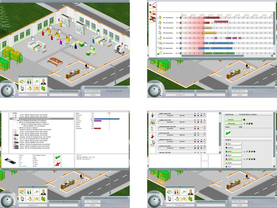 www.korion.de || info@korion.de 9 learn2work vernetzt Personal- entwicklung Controlling und Kennzahlen Produktions- planung Vertrieb und Marketing Material- wirtschaft Soft Skills