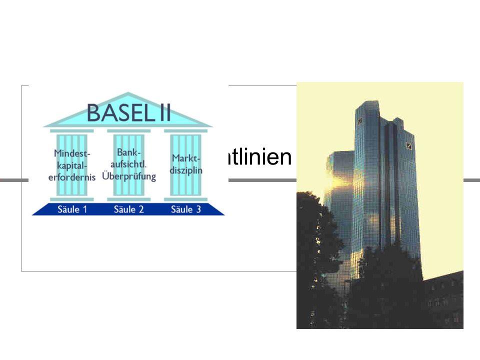 Finanz Kreditvergaberichtlinien Basel II