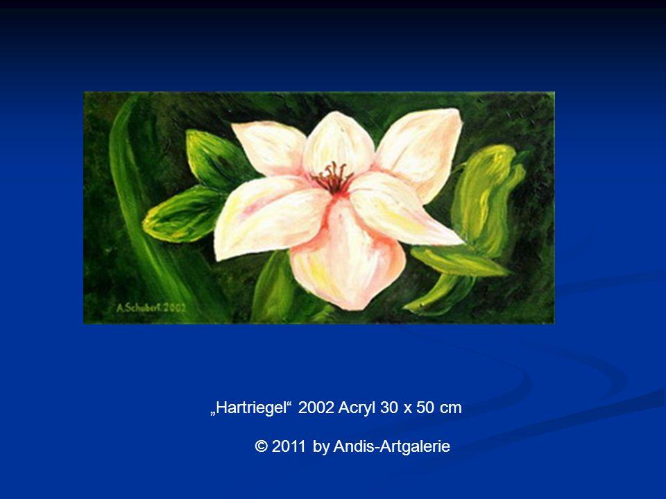 Hartriegel 2002 Acryl 30 x 50 cm © 2011 by Andis-Artgalerie