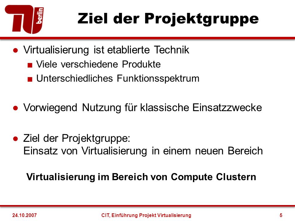 Nebenläufige Qualifikation Teamarbeit und Organisation Präsenta- tions- techniken Wissen- schaftl.