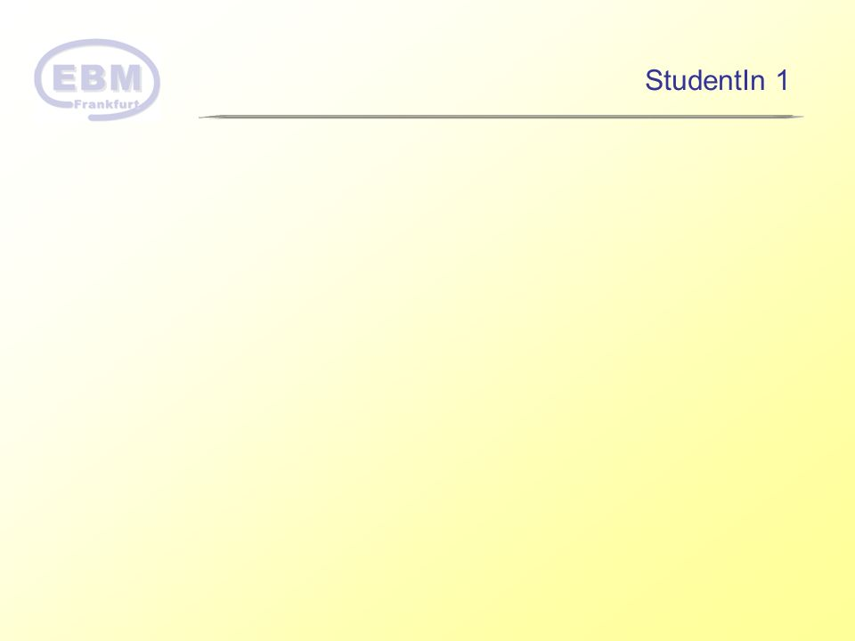 StudentIn 1