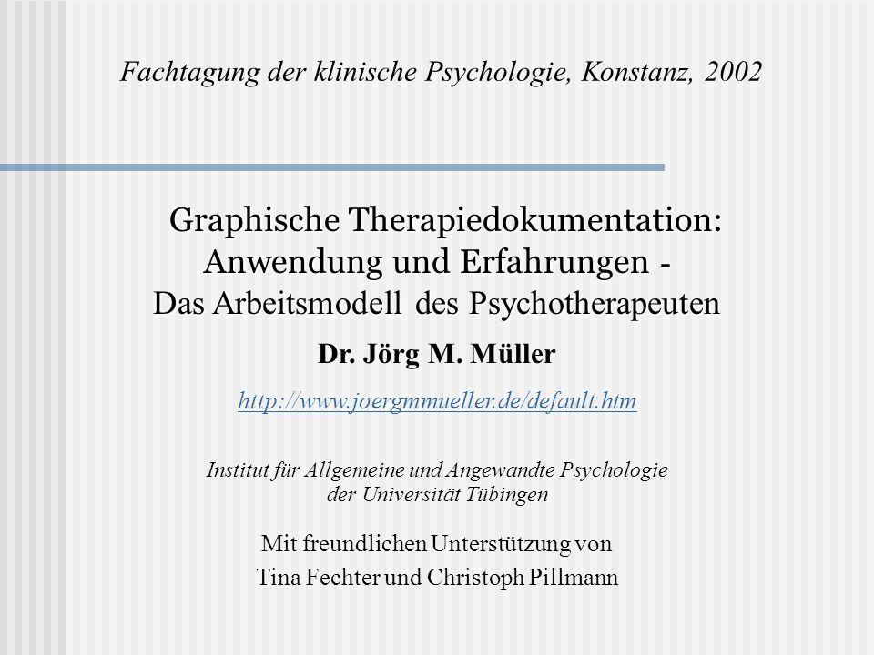 Graphische Therapiedokumentation: Anwendung und Erfahrungen - Graphische Therapiedokumentation: Anwendung und Erfahrungen - Das Arbeitsmodell des Psyc