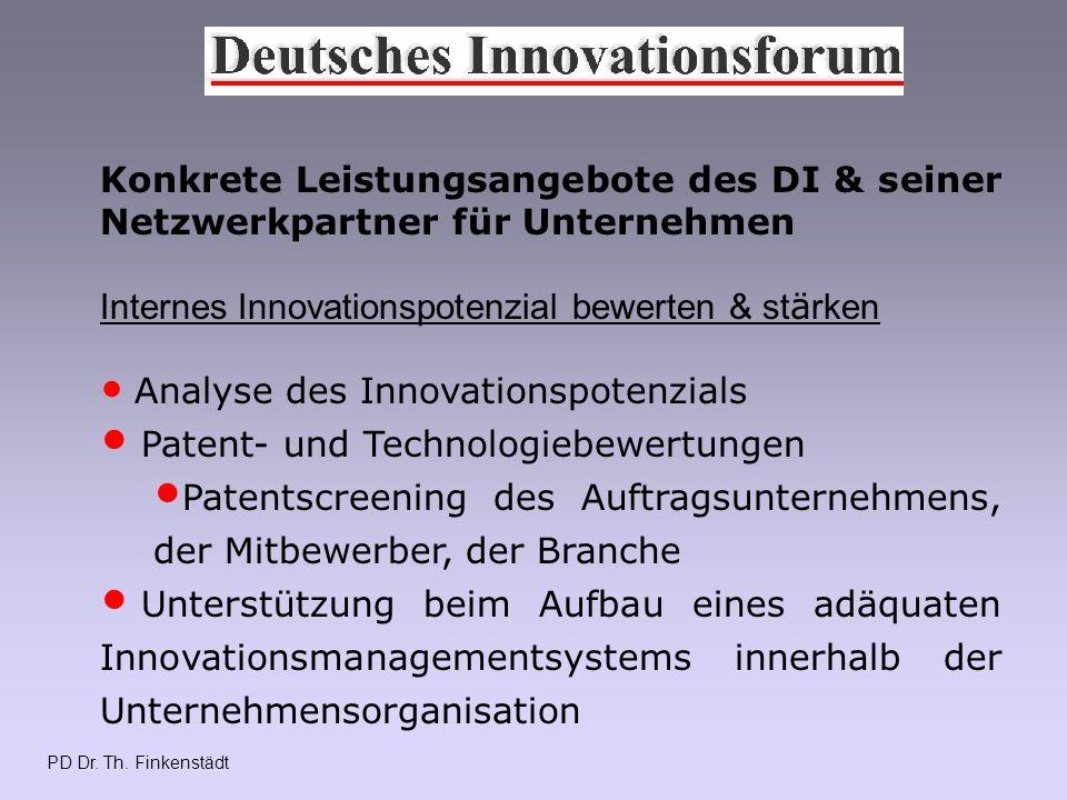 PD Dr.Th. Finkenstädt Mitglied beim DI e.V. kann jeder werden.