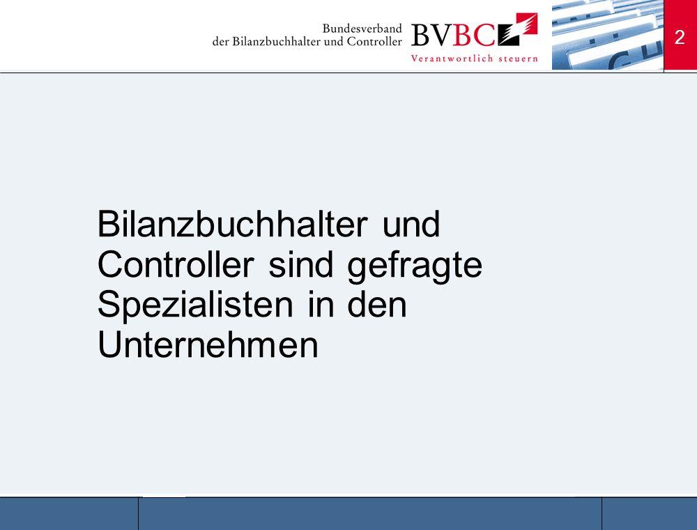 3 Statistisch liegt das Durchschnitts- einkommen in der BVBC- Gehaltsanalyse bei etwa 55.700 EUR, eine Steigerung um 3.900 EUR (7,5 %) gegenüber der letzten Untersuchung von 2004.