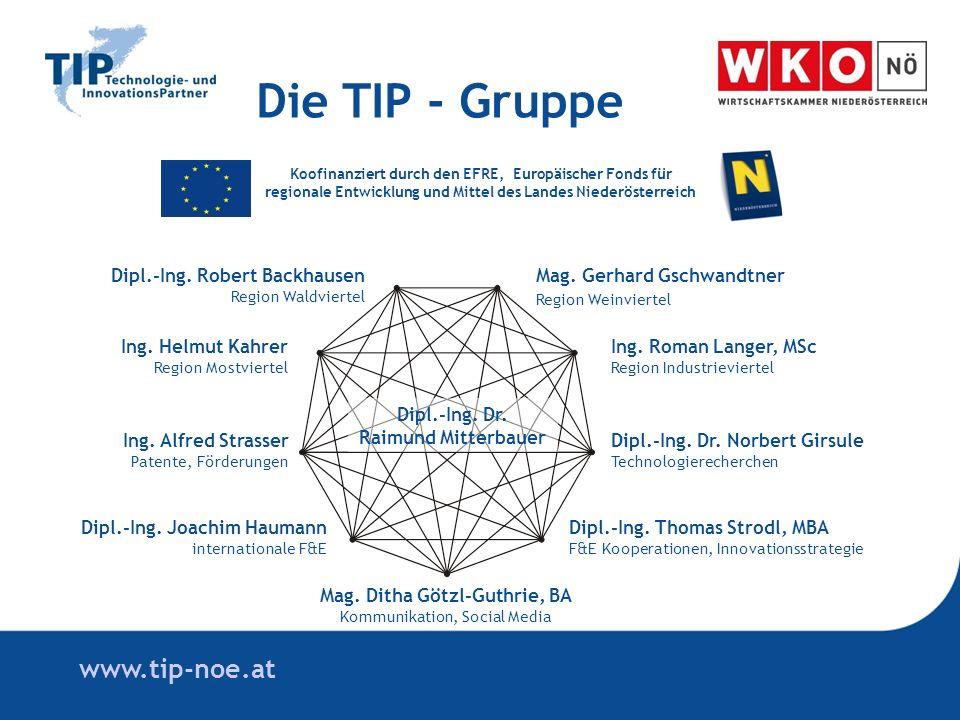 www.tip-noe.at Ing. Helmut Kahrer Region Mostviertel Ing.