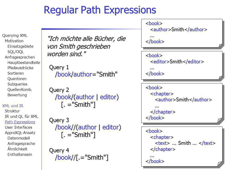 27 Regular Path Expressions
