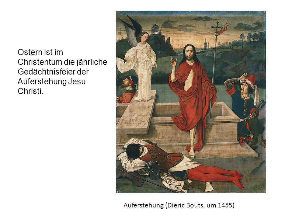 Der Gründonnestag Man denkt an das letzte Abendmahl Jesu mit zwölf Aposteln.