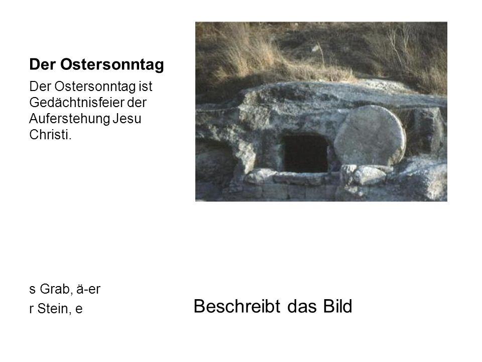 Sitten und Bräuche Osterbrunnen in Niederalbertsdorf, Sachsen Ostereier aus Tschechien