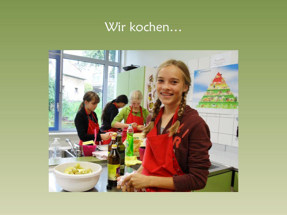 Wir kochen…