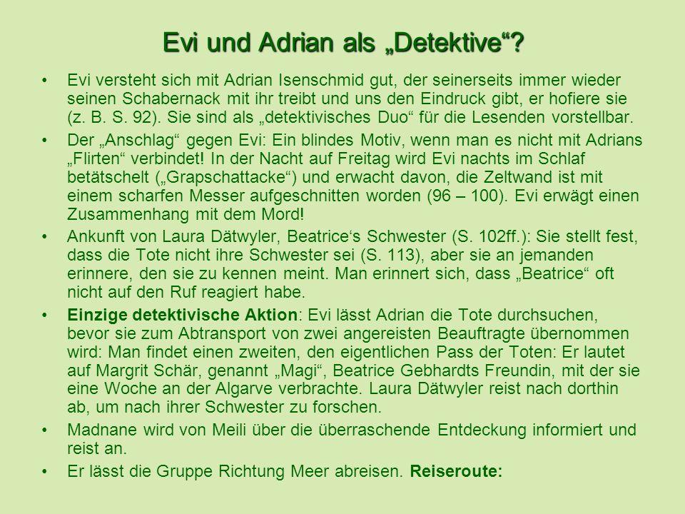 Evi und Adrian als Detektive.