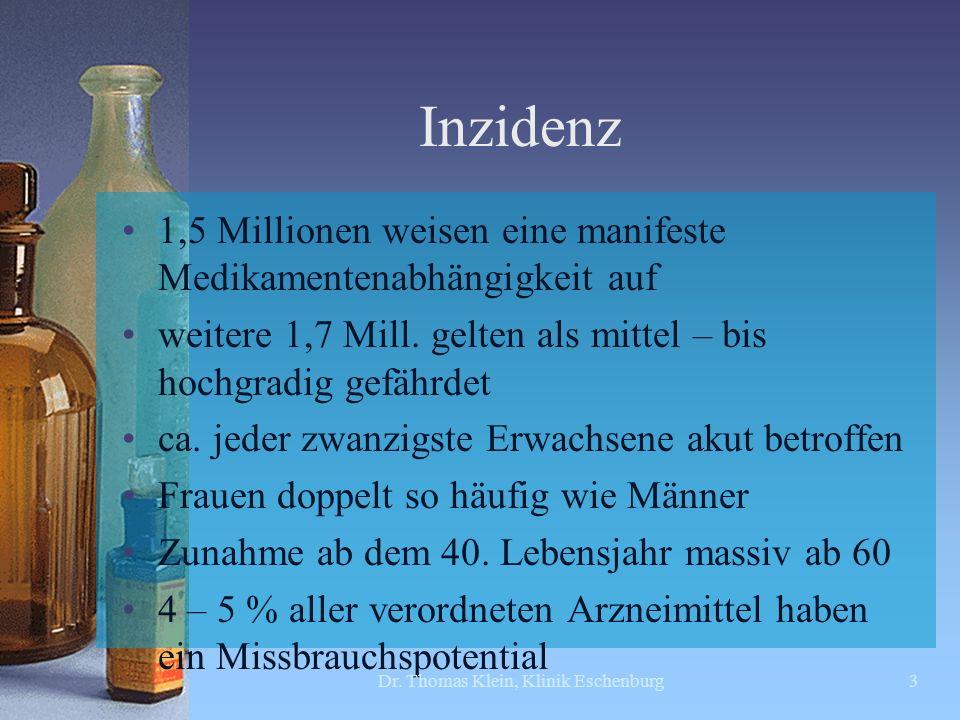 Entstehungsbedingungen (Quelle 1) Dr. Thomas Klein, Klinik Eschenburg14