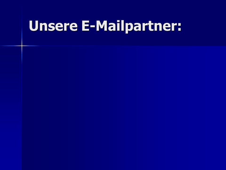 Unsere E-Mailpartner: