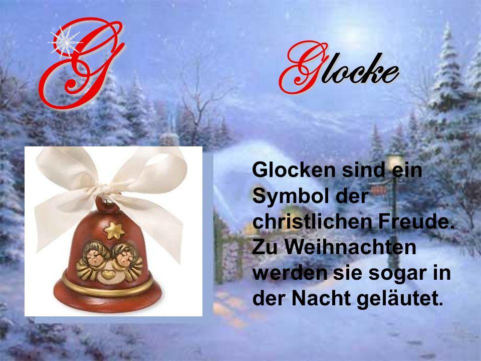 Glocke Glocken sind ein Symbol der christlichen Freude.