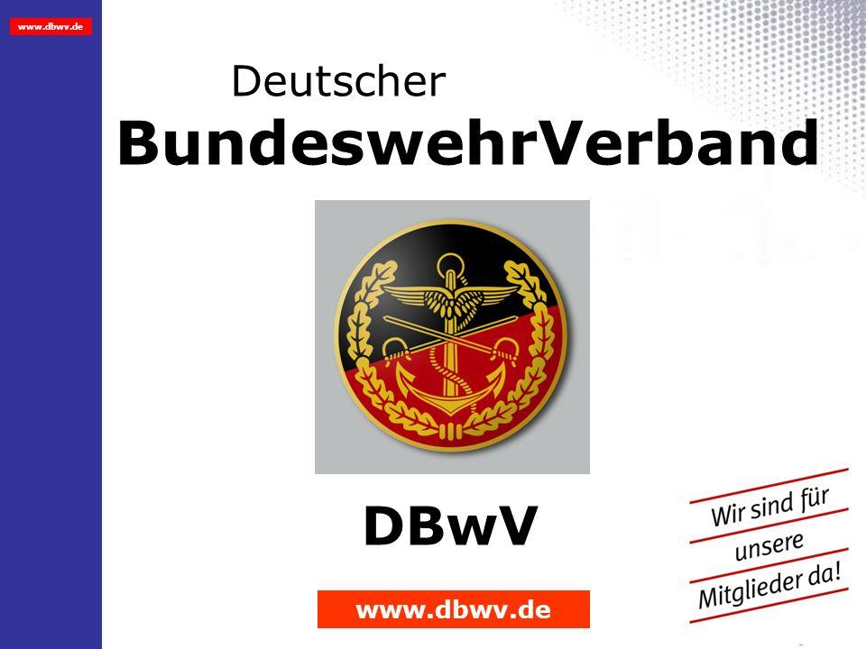 www.dbwv.de 26.03.2014 1 Deutscher BundeswehrVerband DBwV www.dbwv.de