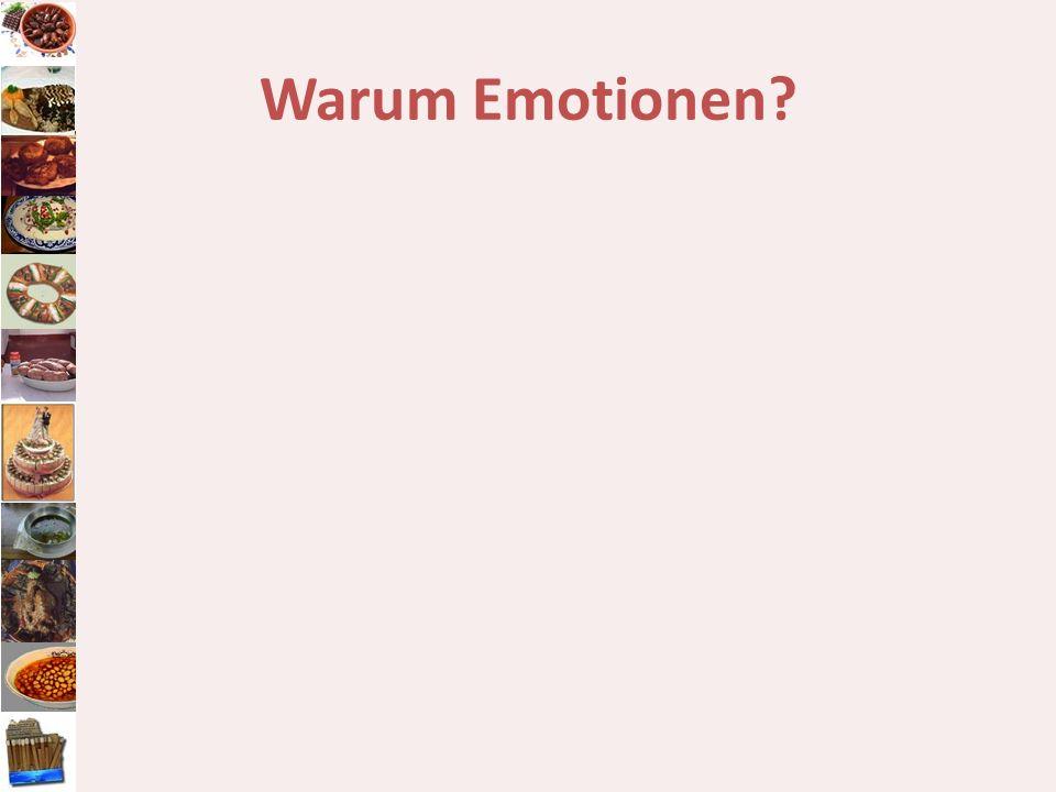 Warum Emotionen?