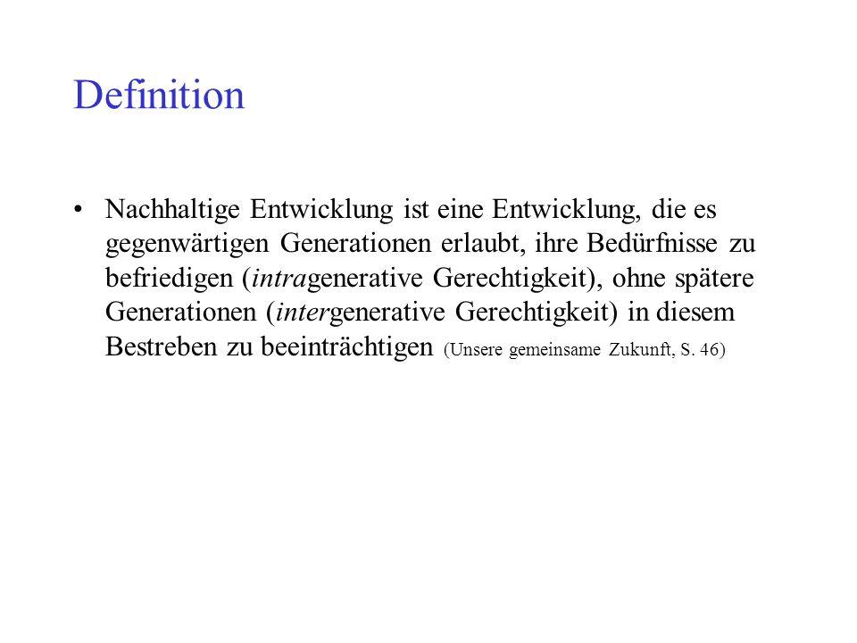 Grundprinzipien der Nachhaltigkeit Naturproduktivität Das 2.