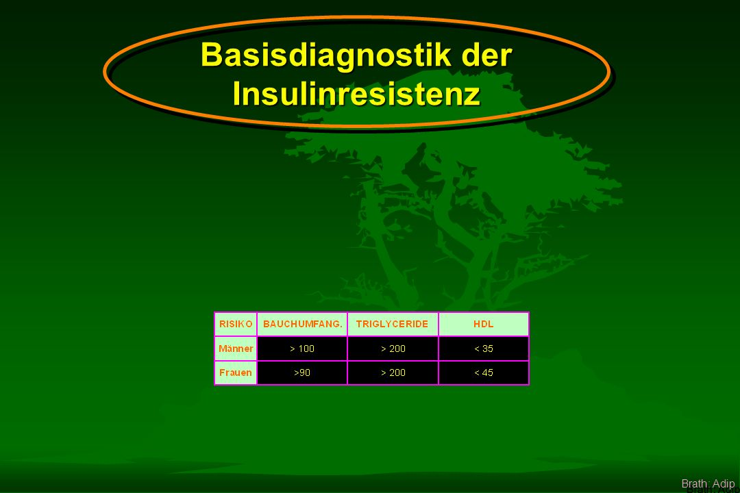 Regulation auf zellulärer Ebene Brath: Adip J Clin Invest, June 2002, Volume 109, Number 12, 1537-1540