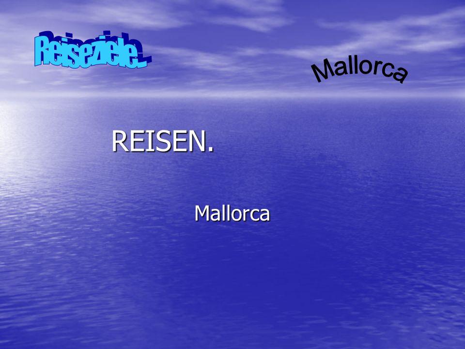 Mallorca Mallorca (katalanisch [mə ˈʎɔɾ kə], kastilisch [ma ˈʎ o ɾ ka]; von lateinisch insula maior, später Maiorica – die größere Insel, im Vergleich zu Menorca) ist eine zu Spanien gehörende Insel im westlichen Mittelmeer, etwa 170 km vom spanischen Festland bei Barcelona entfernt.