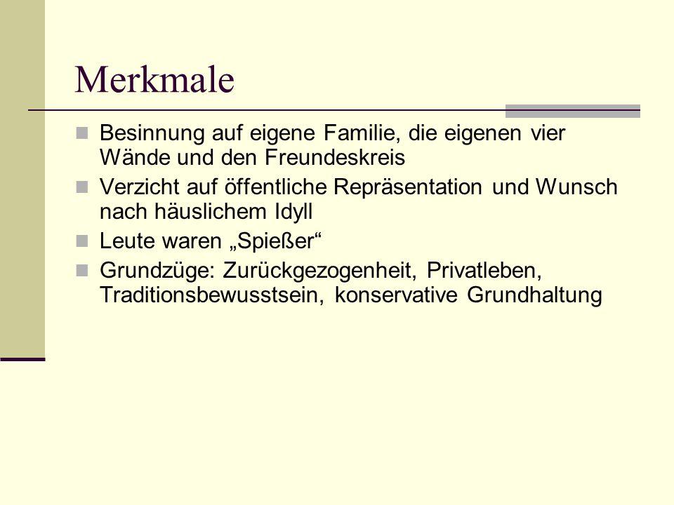 Mörike galt lange Zeit als ein typischer Vertreter des Biedermeier, der die vertraute und enge Heimat besingt.
