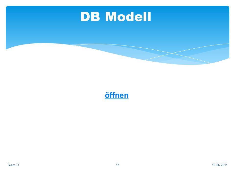 öffnen 10.06.2011Team C15 DB Modell